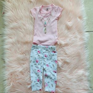 Other - Baby girl matching set 3-6 months